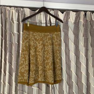 Anthropologie Moth sweater skirt